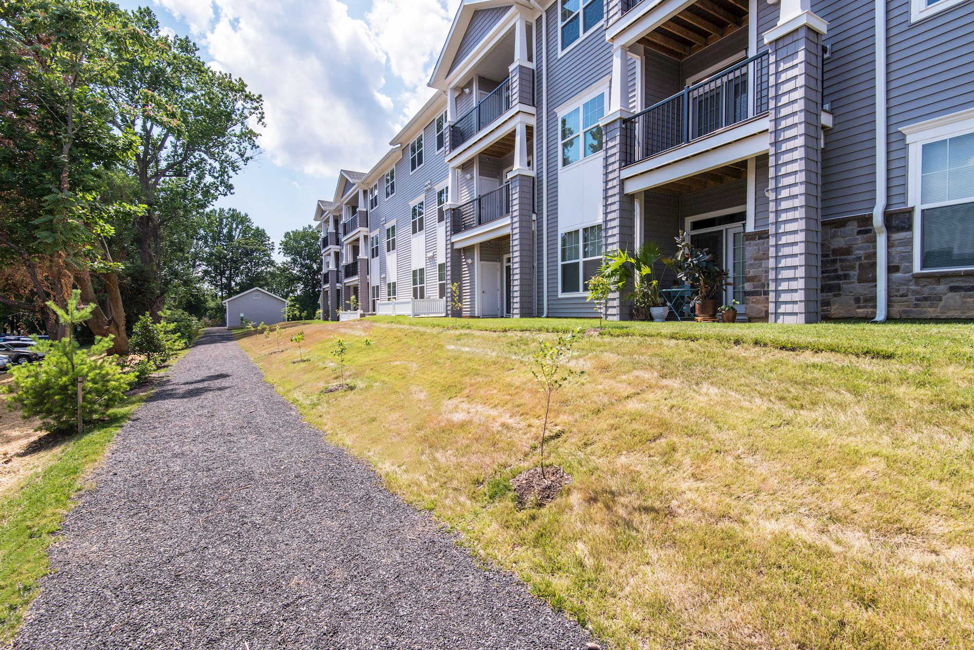 Avanti Luxury Apartments in Bel Air, MD - Walking Path