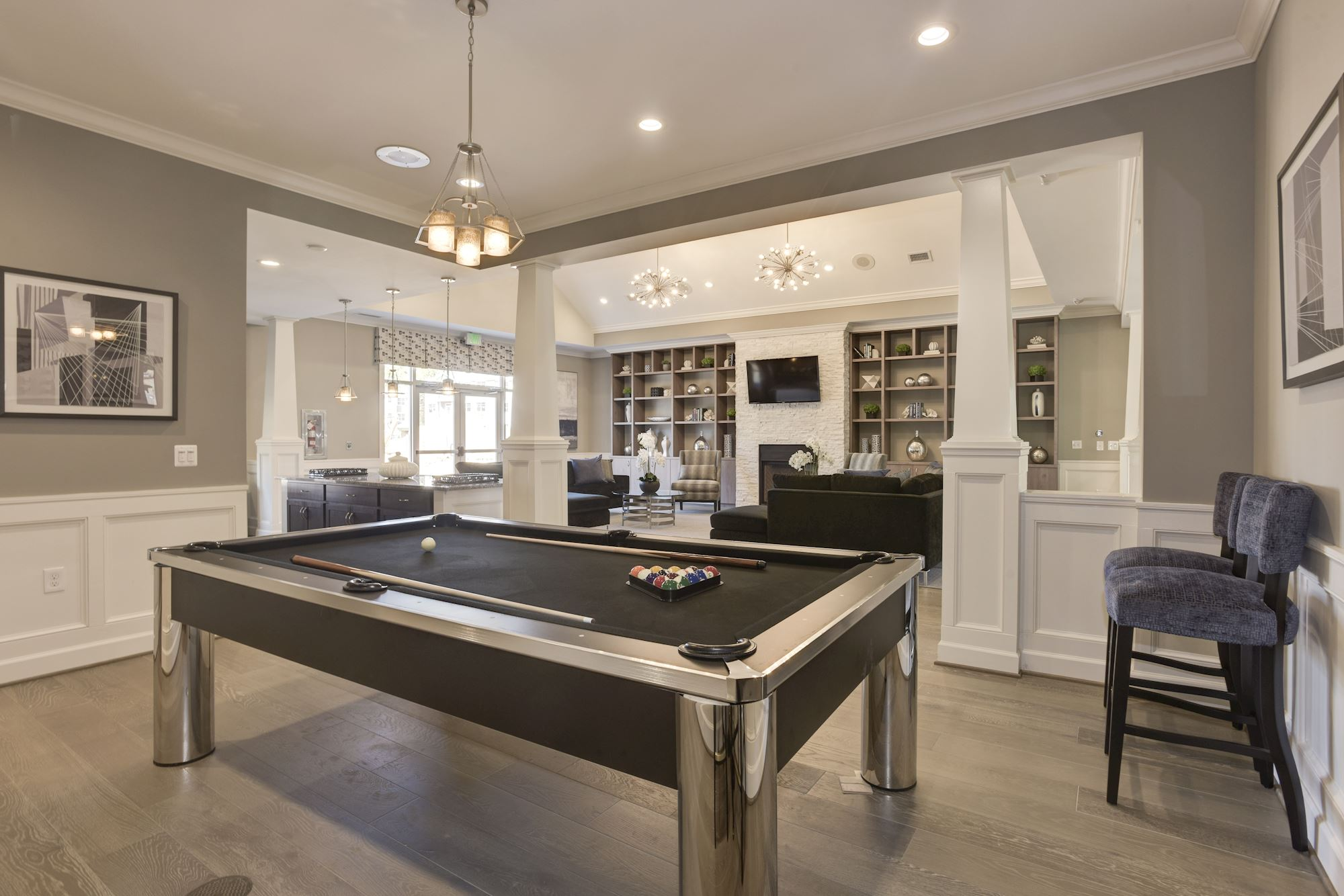 Avanti Luxury Apartments in Bel Air, MD - Billiards Room