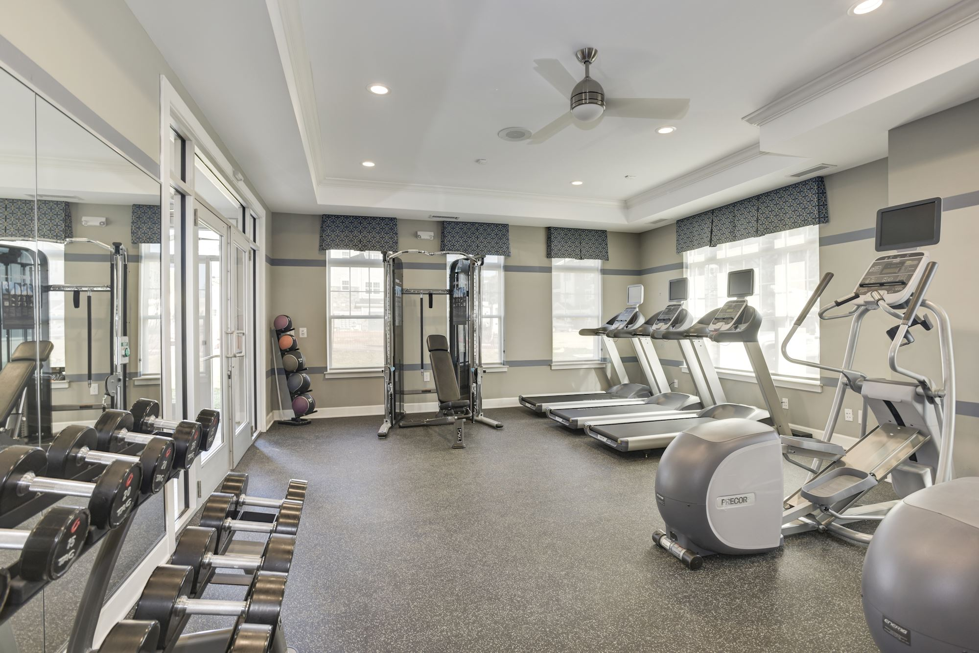 Avanti Luxury Apartments in Bel Air, MD - Fitness Center