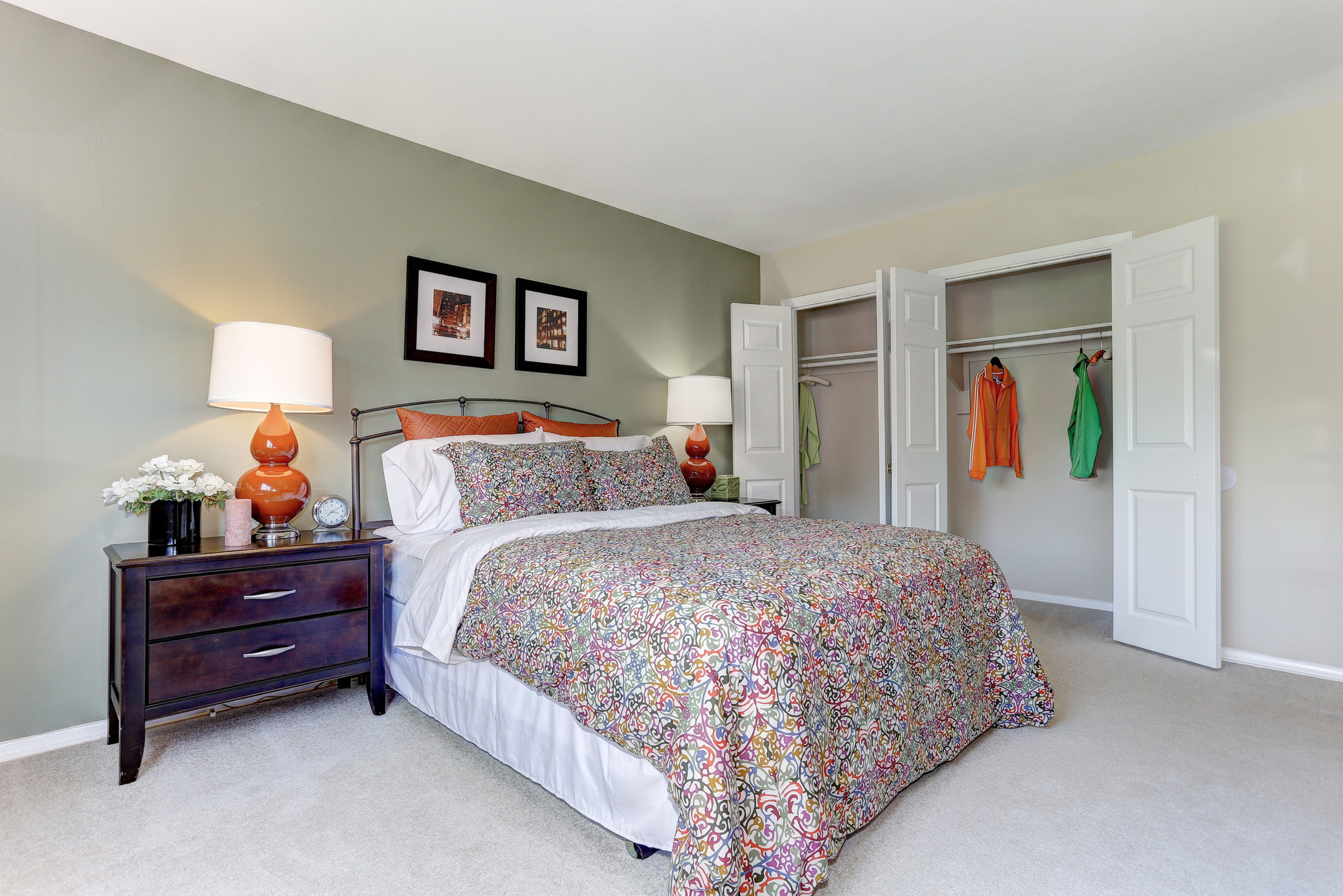 Hamilton Springs Apartments in Baltimore, MD - Master Bedroom