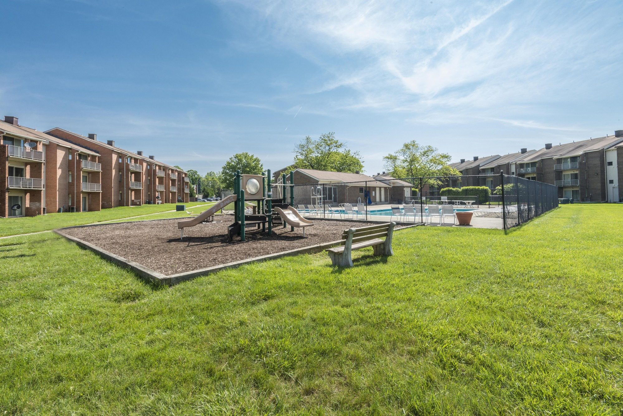 Rolling Park Apartments in Windsor Mill, MD - Playground