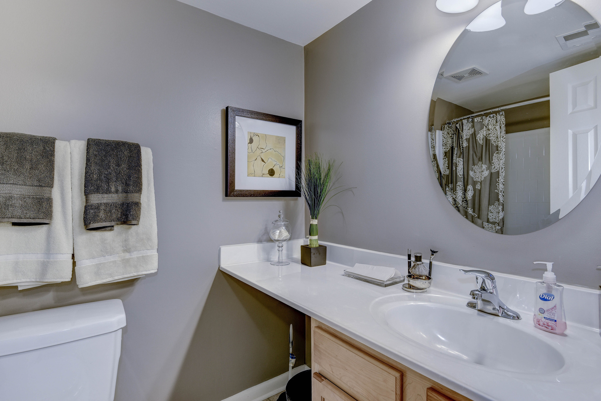 Hampton Manor Apartments & Townhomes in Cockeysville, MD -  Bathroom