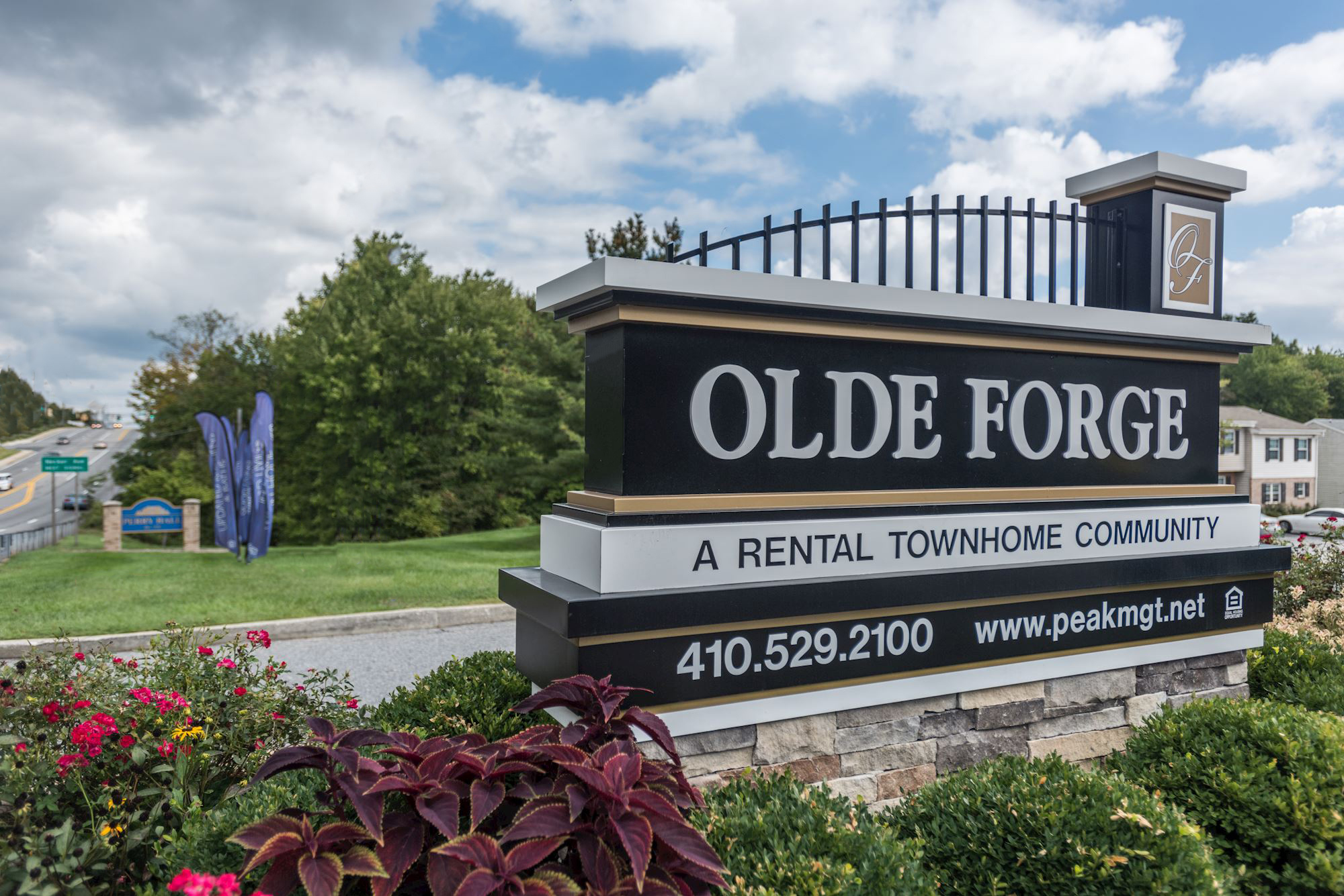 Olde Forge Townhomes in Perry Hall, MD - Property Entrance
