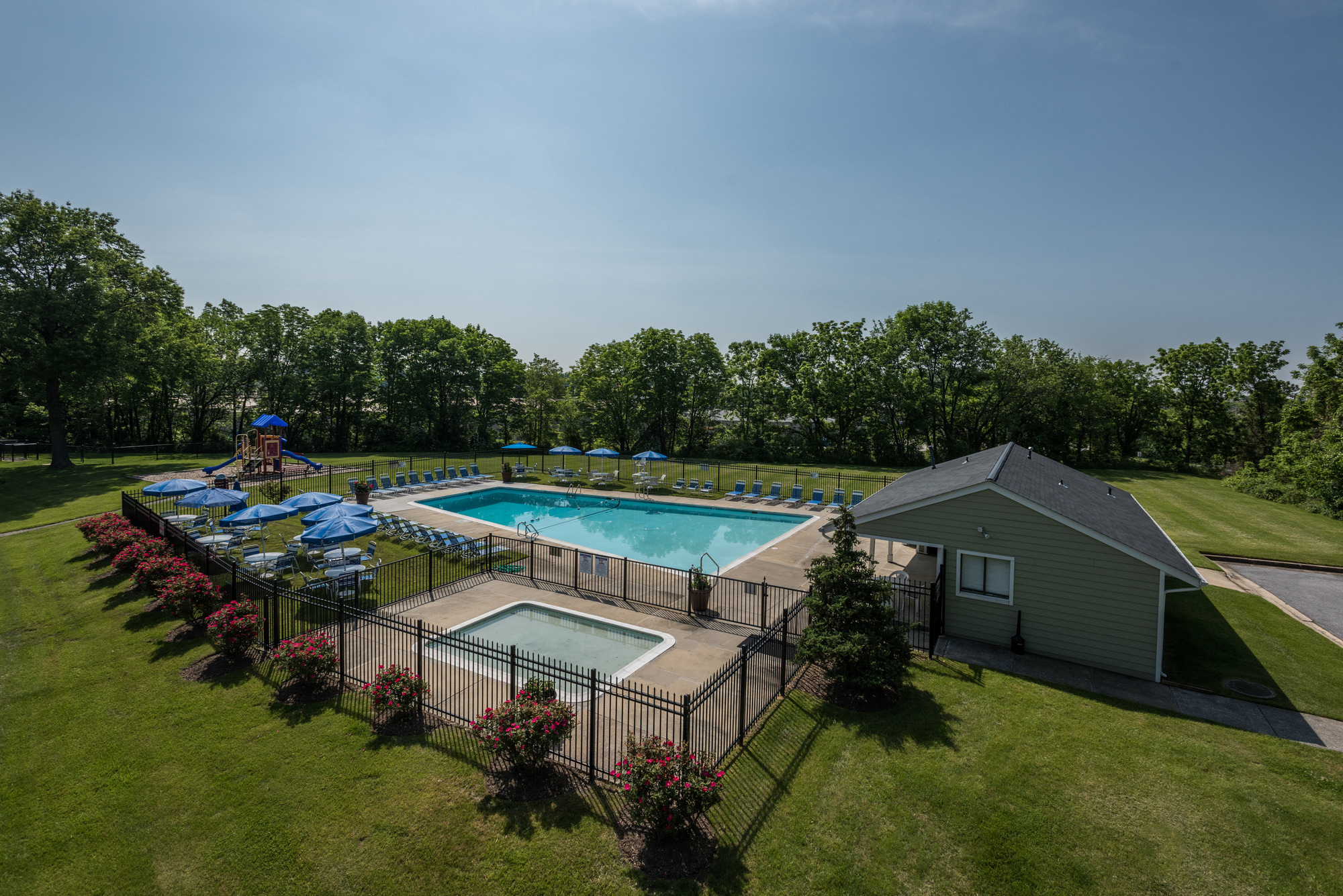 Satyr Hill Apartments in Parkville, MD - Swimming Pool