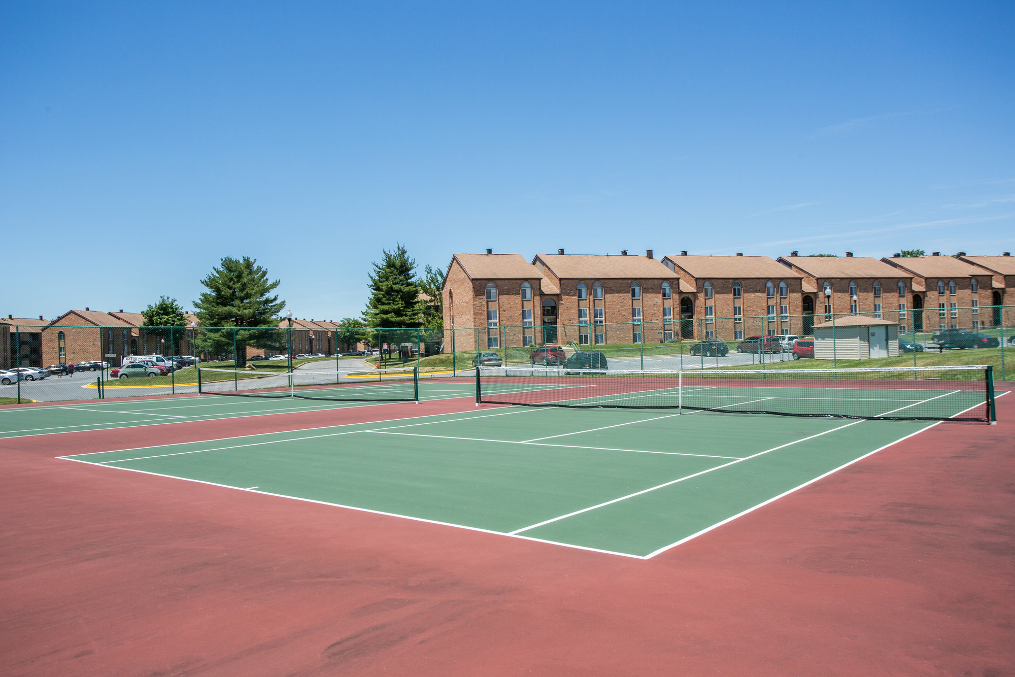 Tuscany Gardens Apartments in Windsor Mill, MD - Tennis Courts