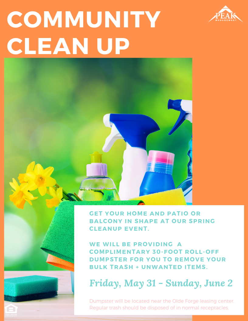 Community Cleanup Spring 2019