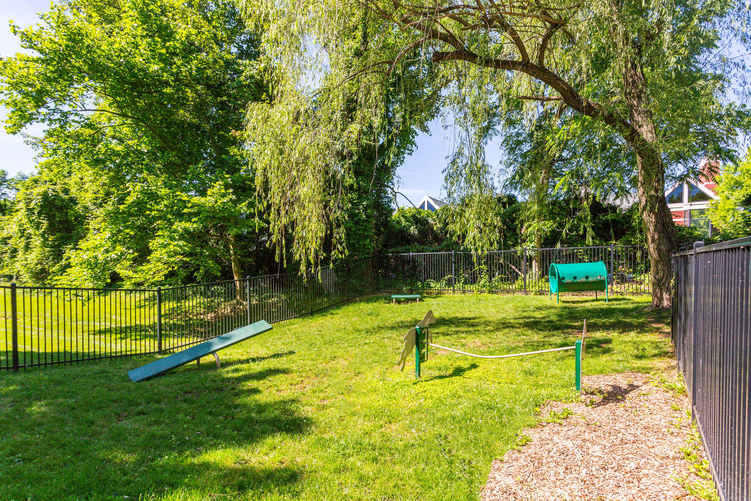Dog Park at Annen Woods Apartments - Pet Friendly Apartments in Pikesville, MD