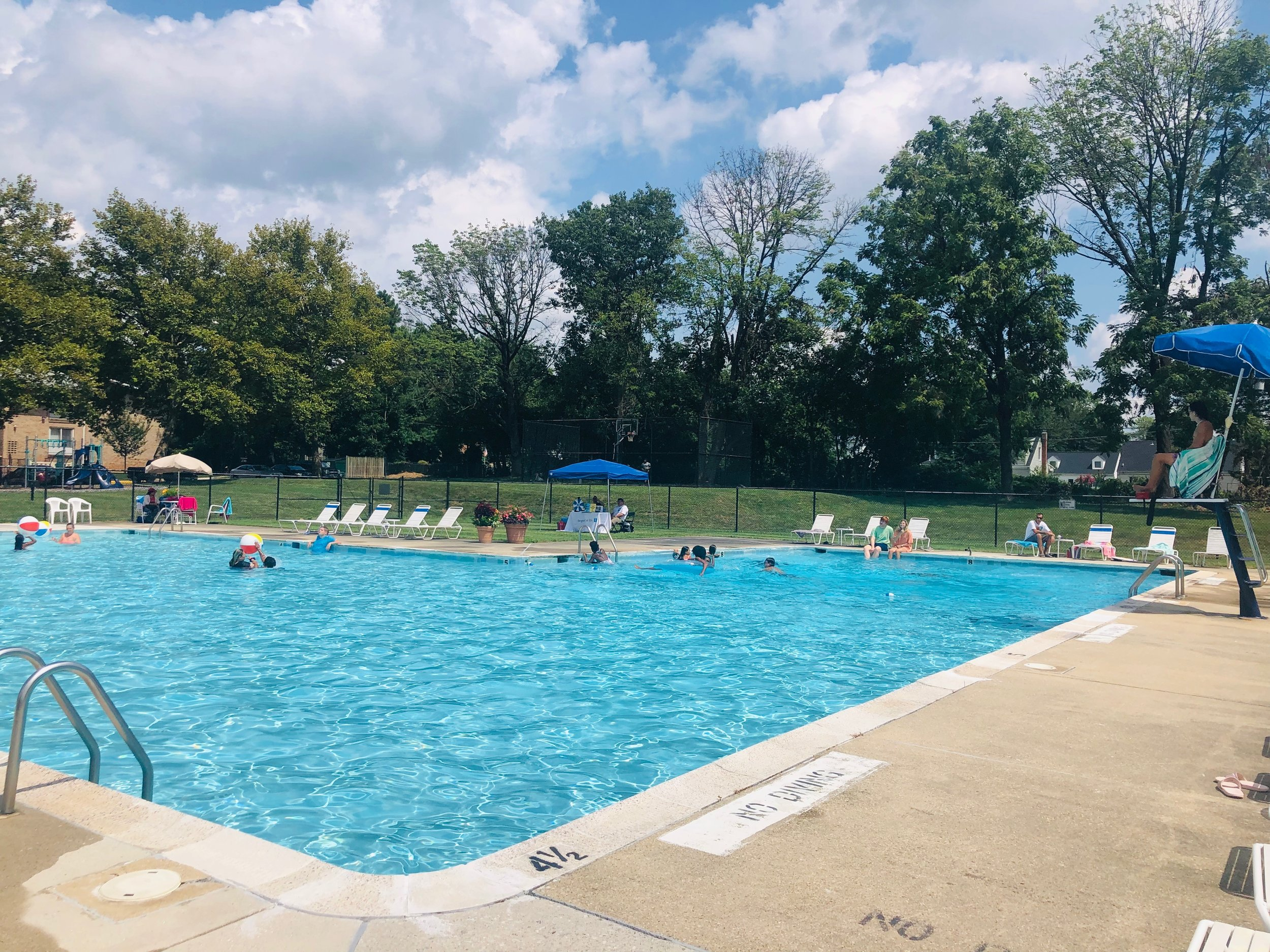 2019 Pool Party at Hampton Manor Apartments + Townhomes