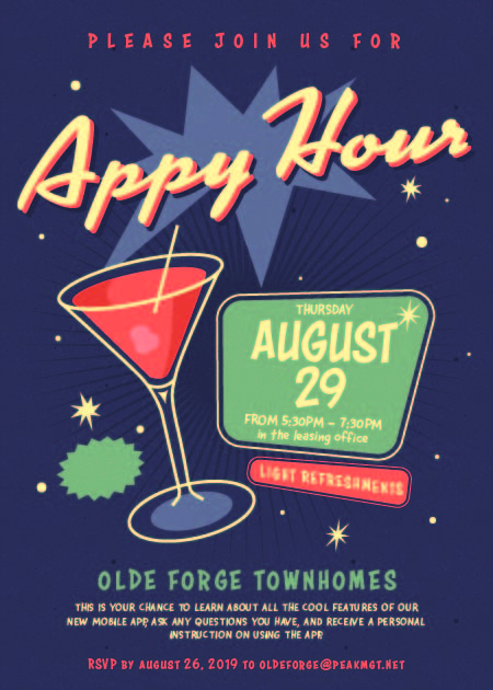 Olde Forge Appy Hour