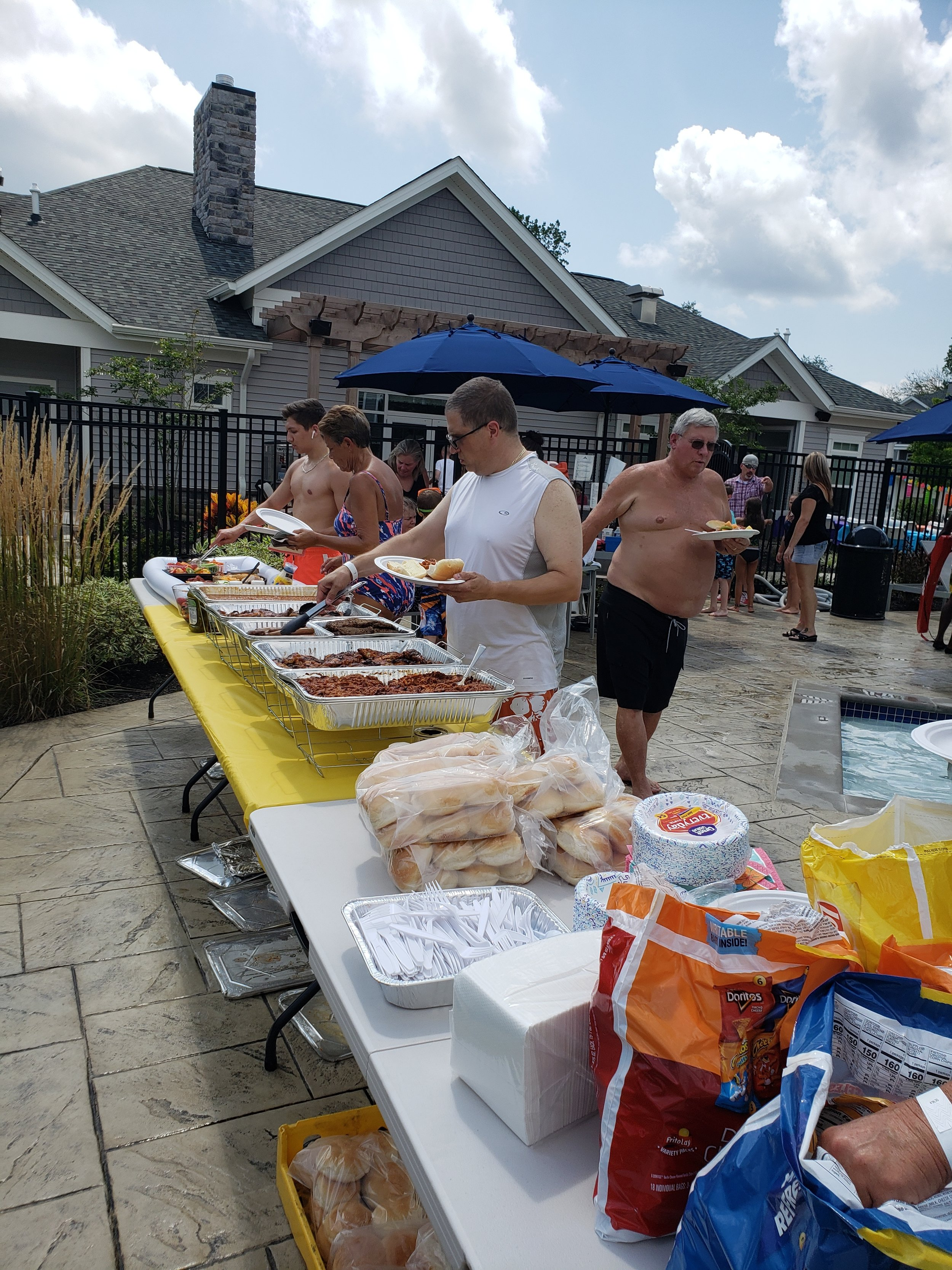2019 Avanti Apartments Pool Party - Catered Foot