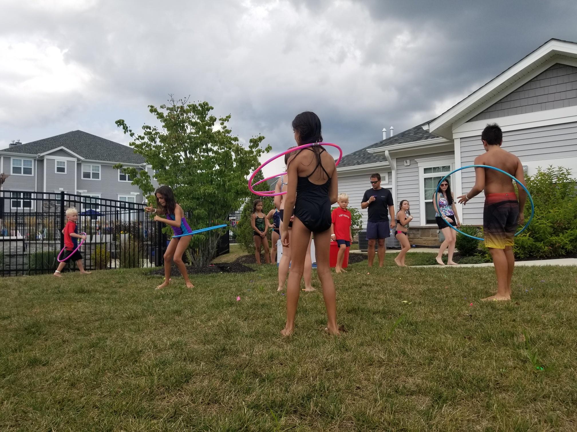 2019 Avanti Apartments Pool Party - Hula Hoop Contest