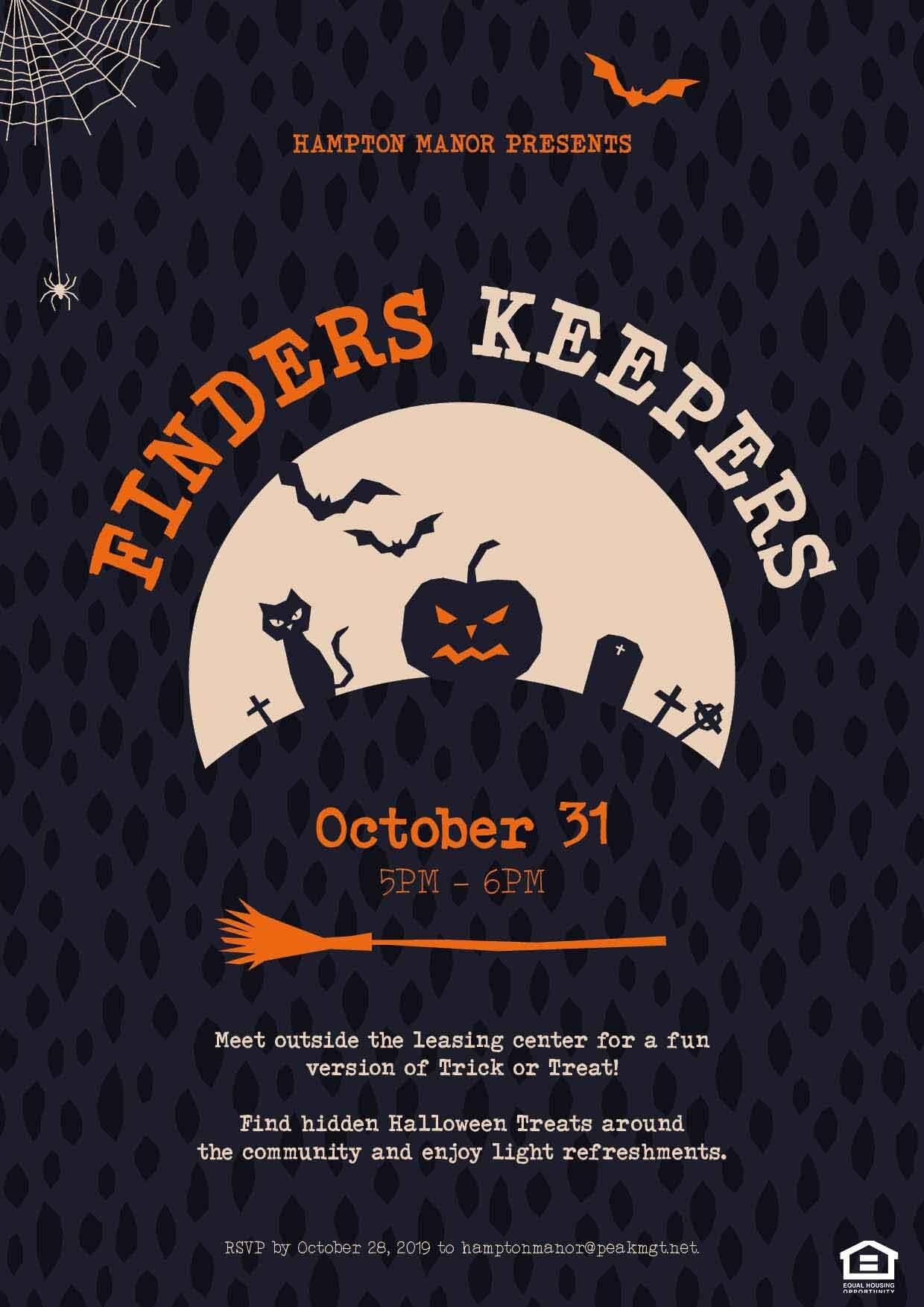 Halloween at Hampton Manor Apartments & Townhomes