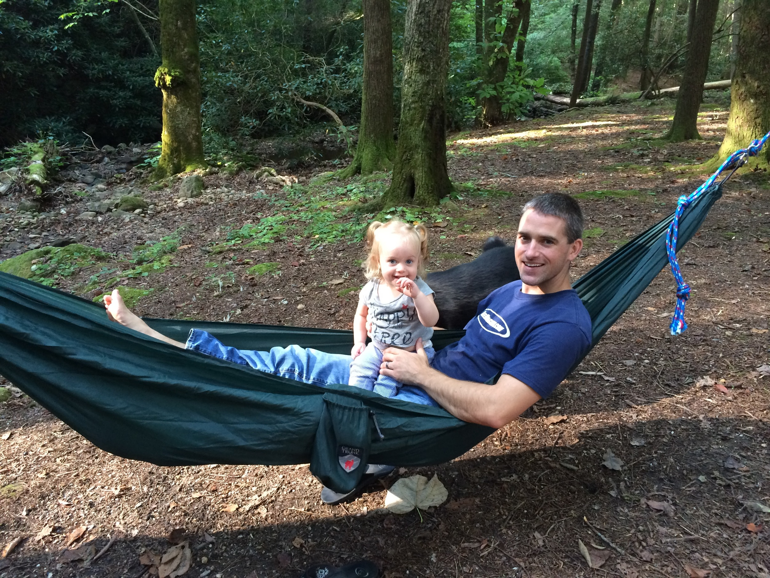 Hammock time with Daddy