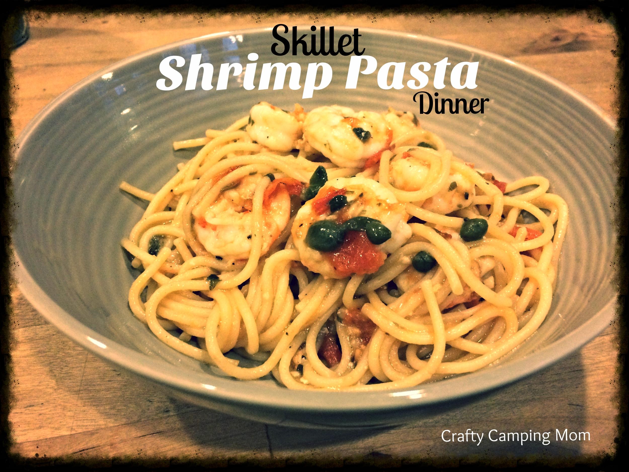 Skillet Shrimp Pasta Dinner