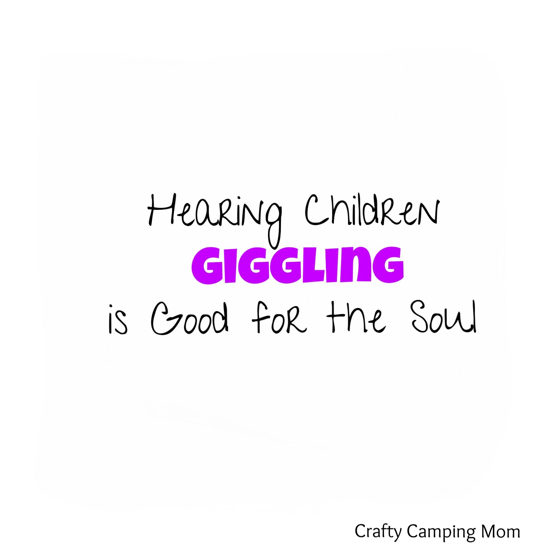 HearingChildrenGiggling