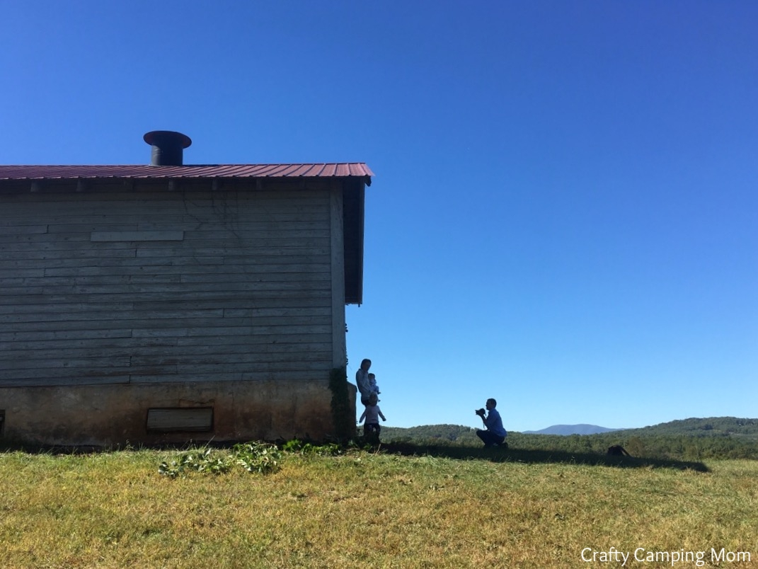 The barn at the hill top