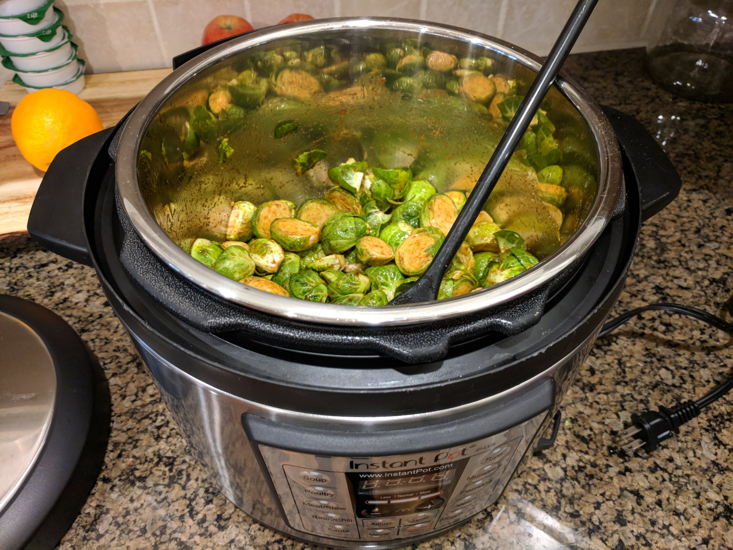 instantpotbrusselsprouts