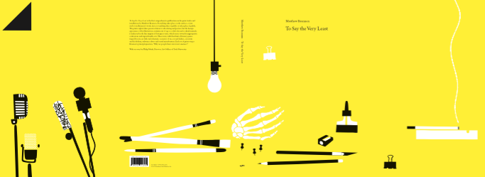 Cover front, back, and flaps: design Matthew Brannon