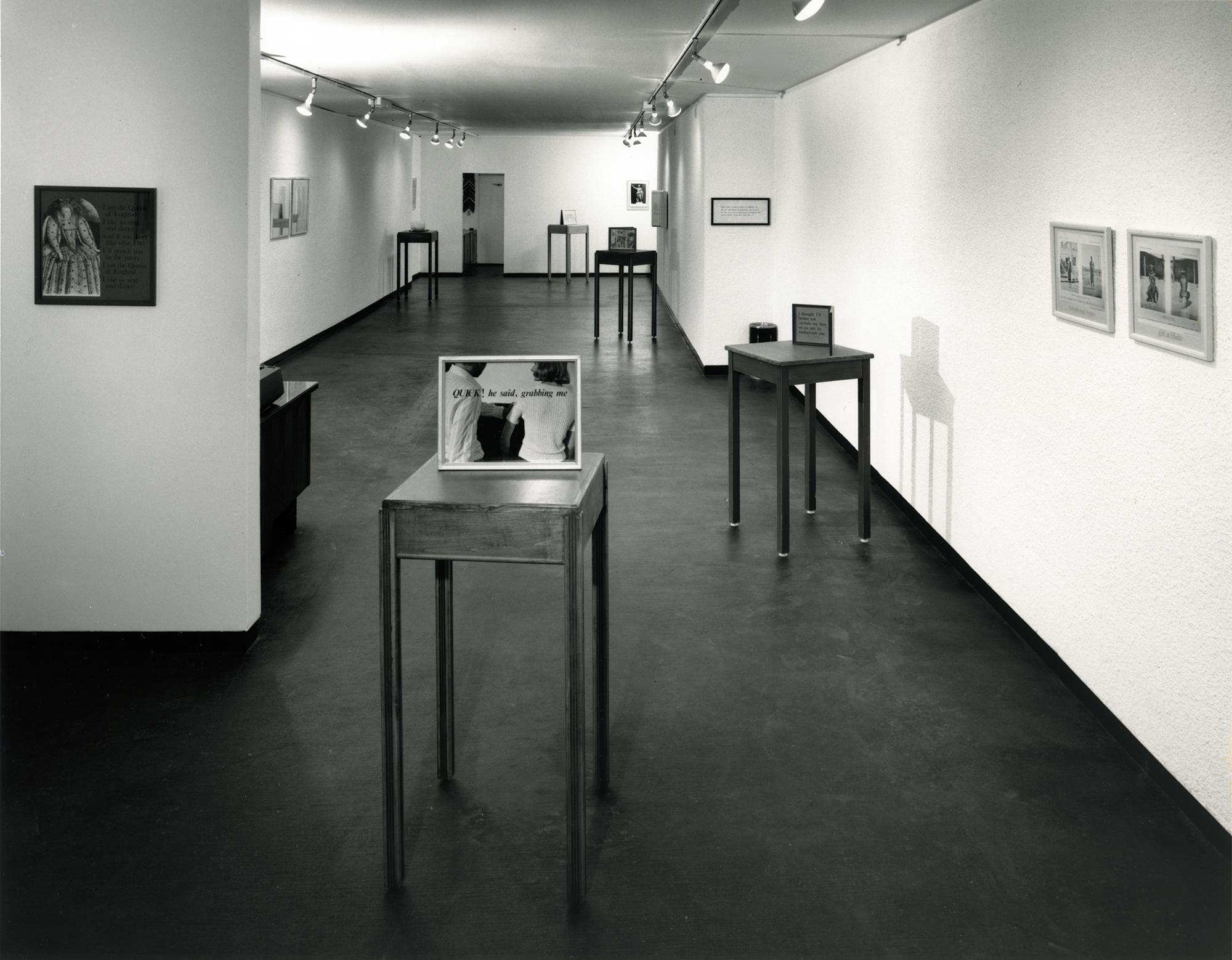 Ian Carr-Harris at the Carmen Lamanna Gallery, September 22 - October 11, 1973