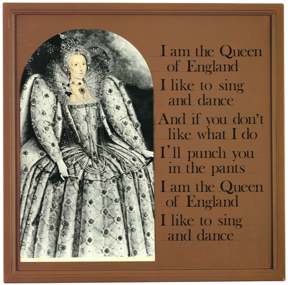 I am the Queen of England , 1973