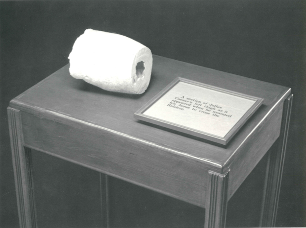 A section of Julius Caesar's left thigh , 1973