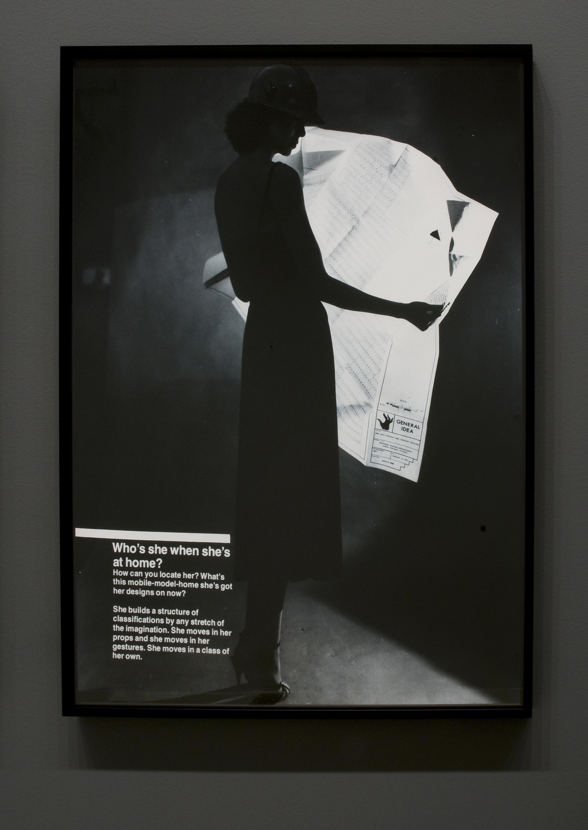 General Idea,  S/HE  , 1977  (detail)