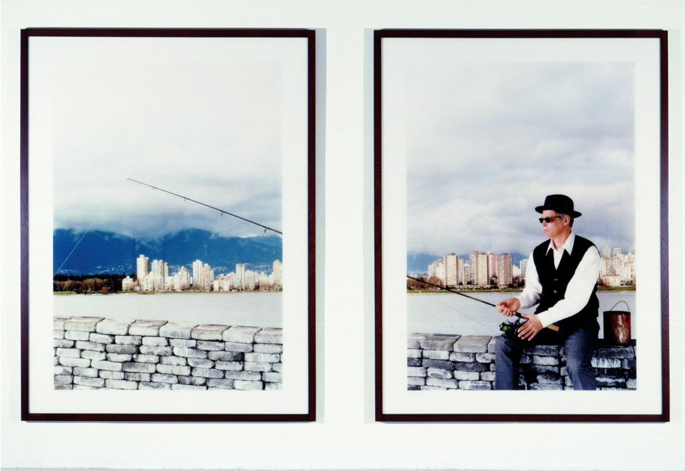 Rodney Graham, Fishing on a Jetty, 2000