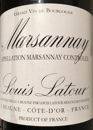 Louis Latour Marsannay 2013