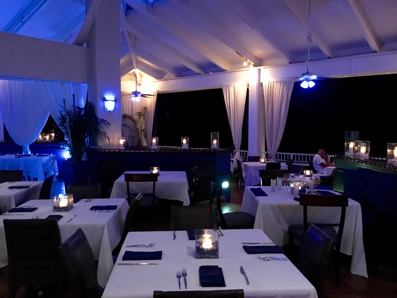 Havana Blue, an independent restaurant located on the grounds of the Marriott, served hands down the best food we had on St. Thomas. It is not to be missed!