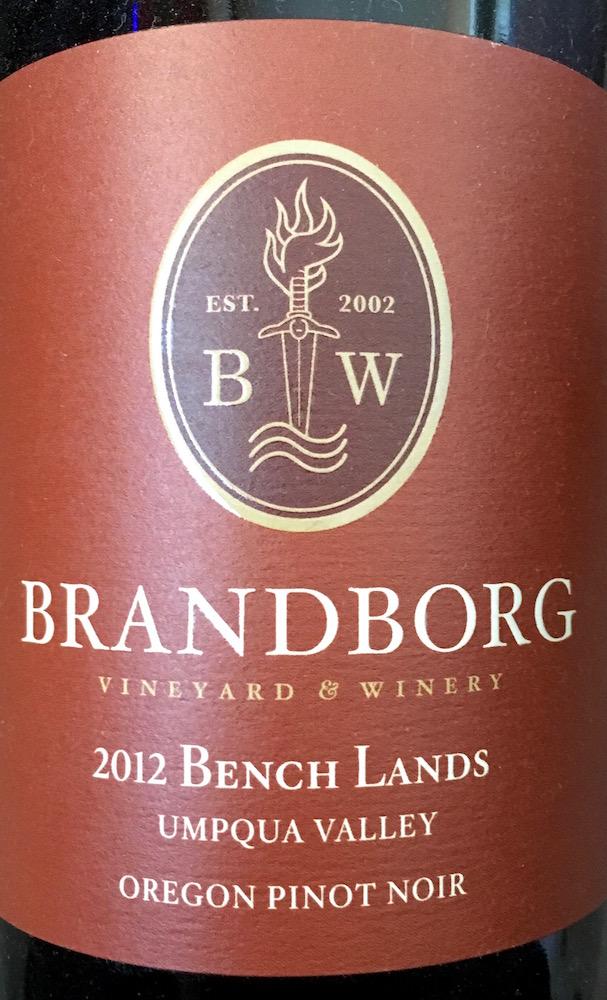 2012 Bench Lands Pinot Noir