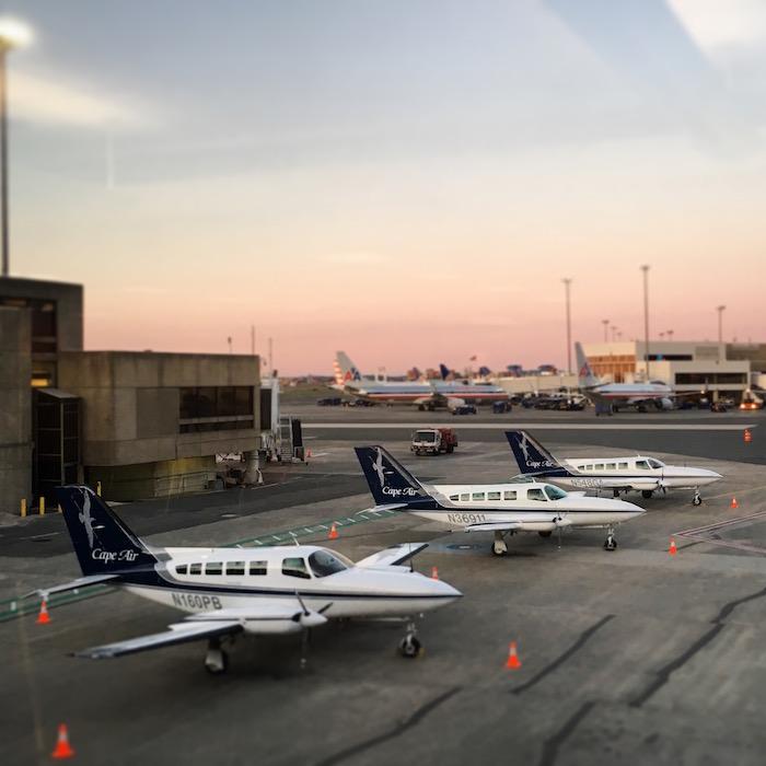 Cape Air at dawn