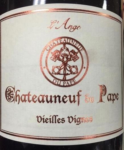 L'ange Vieilles Vines Chateauneuf du Pape