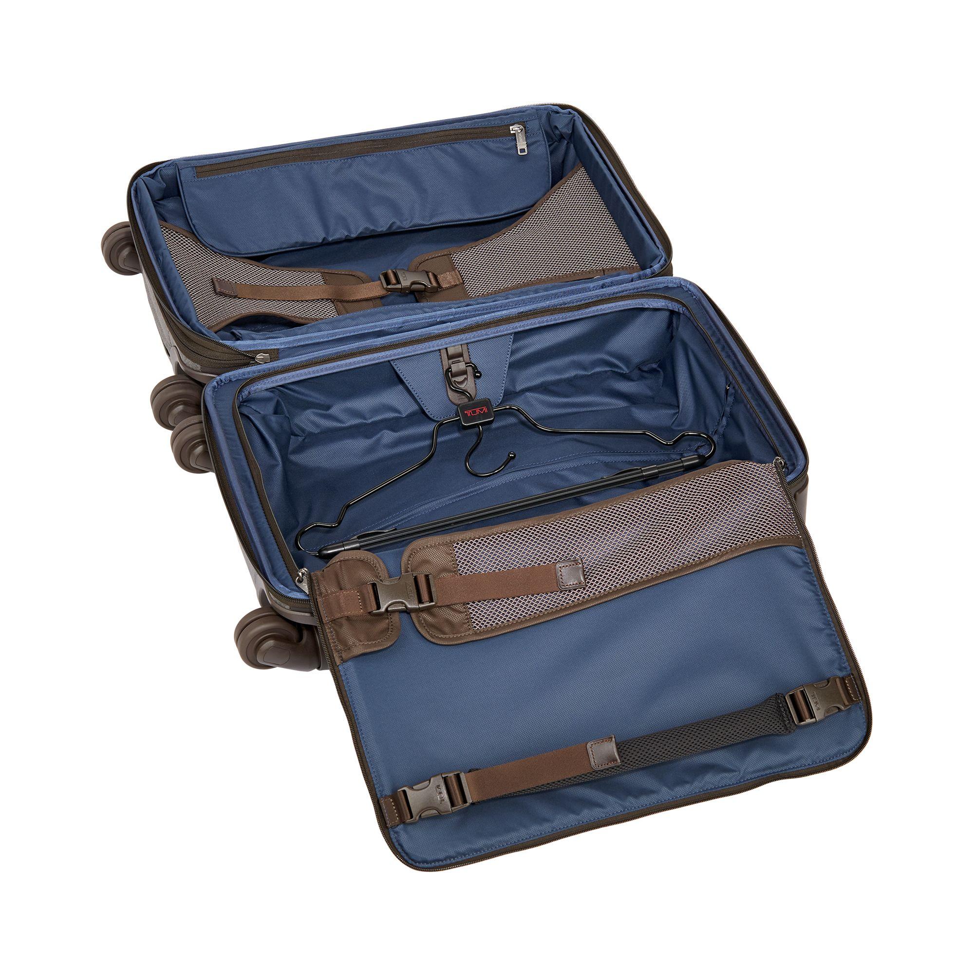 Tumi Alpha 2 International Expandable 4-Wheel Carry-On Luggage on Amazon   Image by Tumi