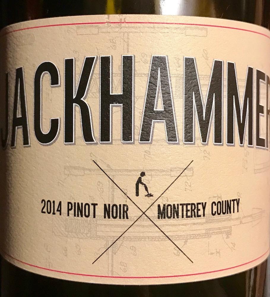 2014 Jackhammer Pinot Noir