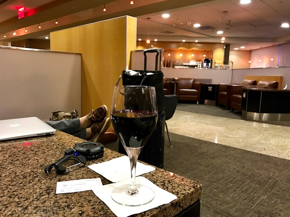 Admirals Club at JFK
