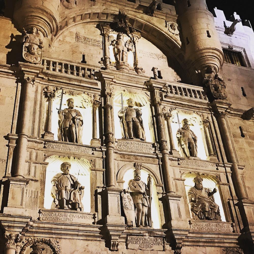 Arco de Santa María in Burgos