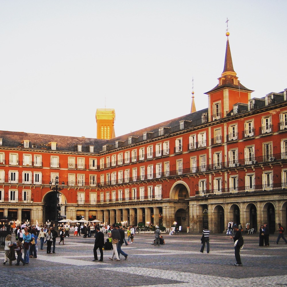 Plaza Mayor is both iconic and a delight to spend an evening on. There are better restaurants elsewhere in the city, but the atmosphere is great.