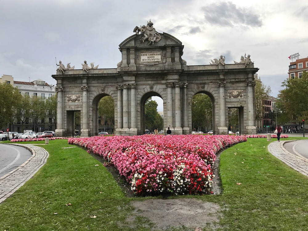Puerta de Alcalá bounds the northeast corner of the city core that we've discussed in this piece. There is much more to see elsewhere, though!