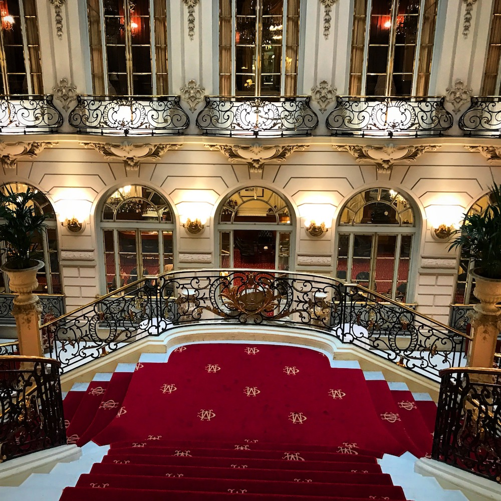 Casino de Madrid is a beautifully designed city club. I'm able to visit due to reciprocity that it holds with the Princeton Club of New York, where I am a member.