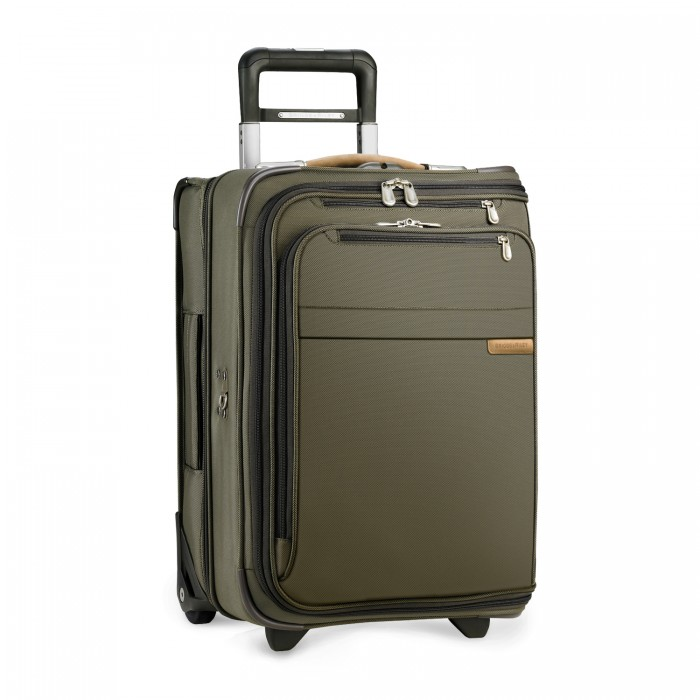 Briggs & Riley Domestic Carry-On Upright Garment Bag (Green)
