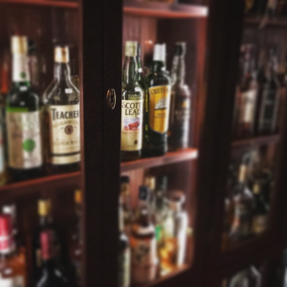 Try the whisky collection at Brygghuset Fiskebäckskil.