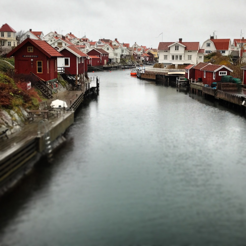 You could not imagine a more idyllic fishing village than Grundsund.