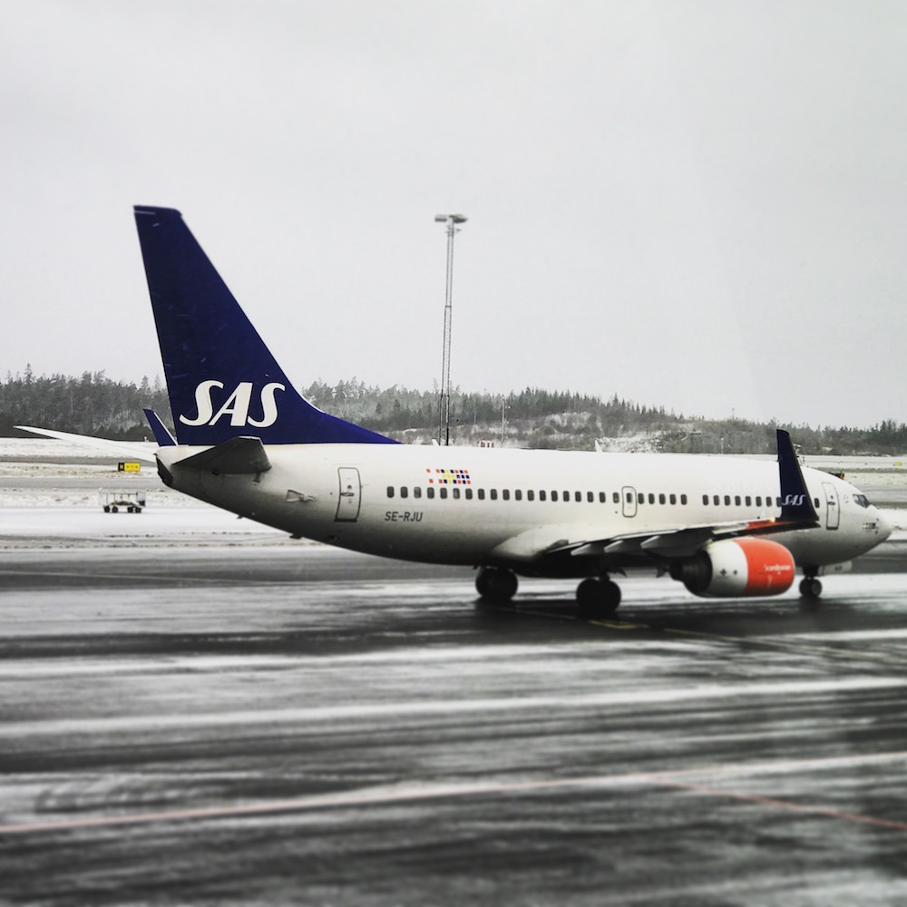 SAS Scandinavian Airlines is a big carrier in and out of Sweden. They are a Star Alliance member, so United travelers rejoice!