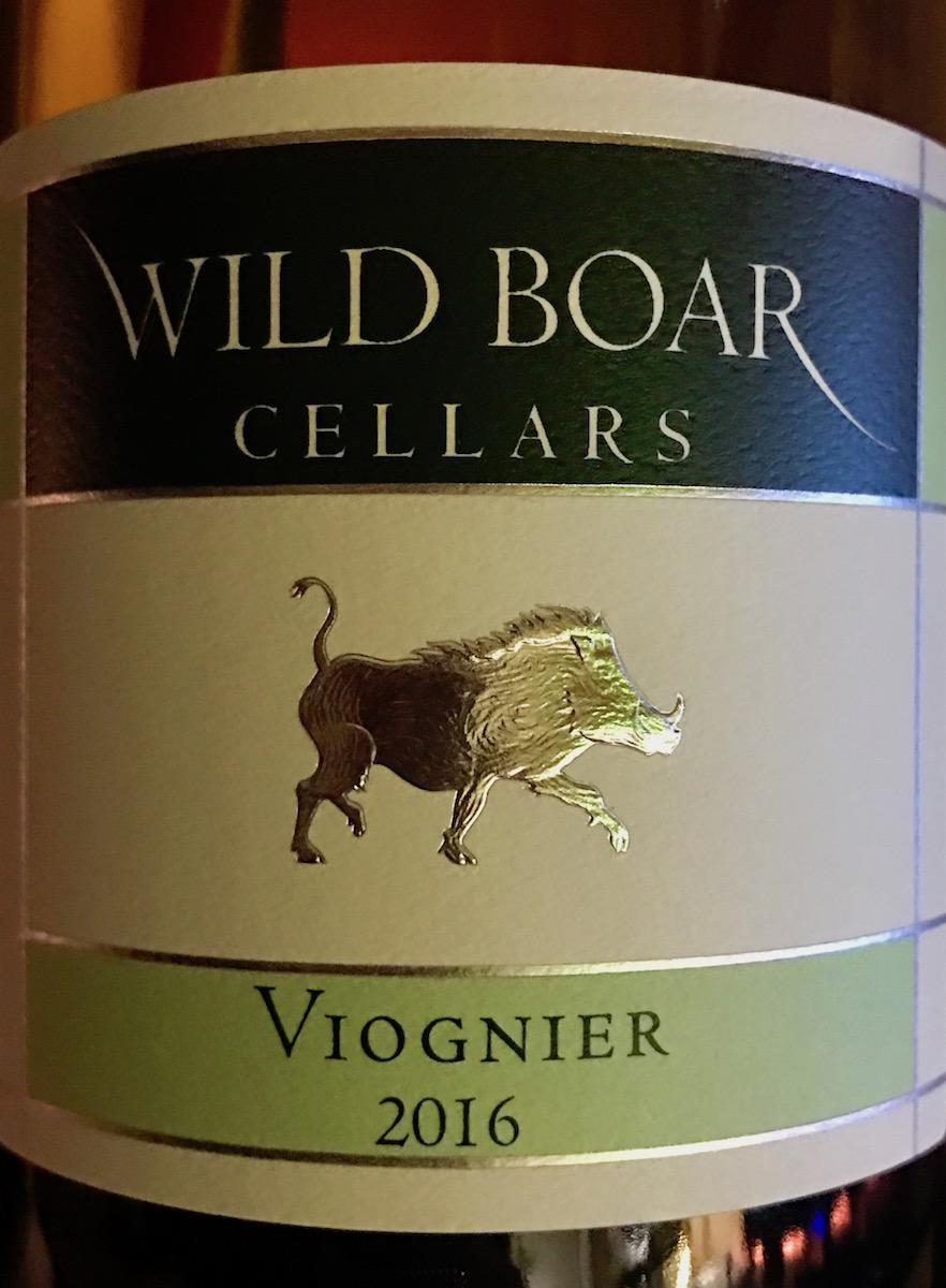 Wild Boar Viognier