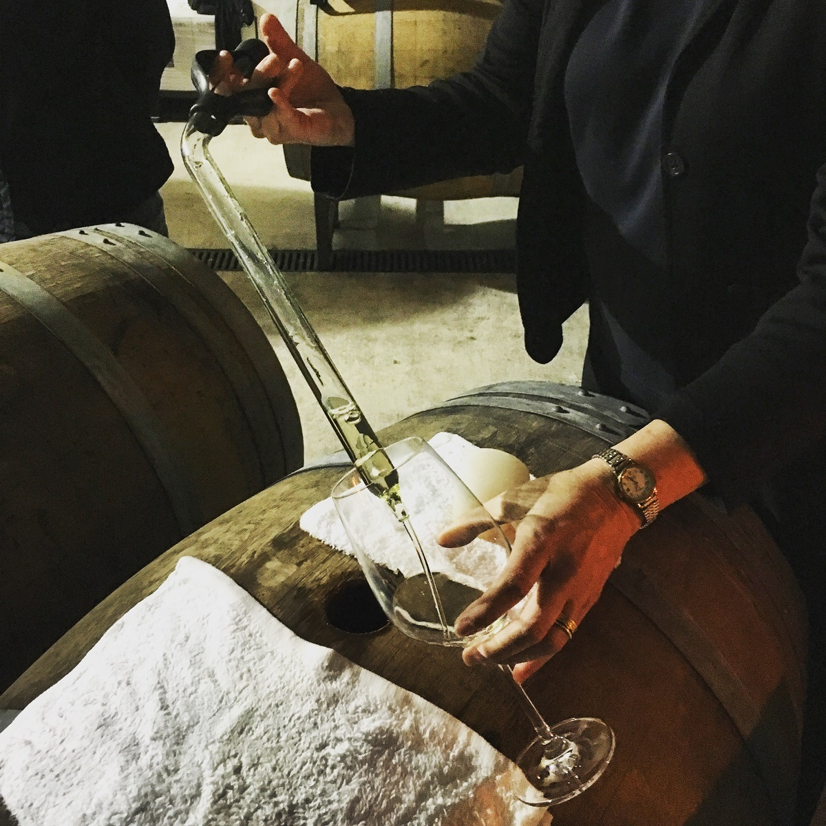 Invites to special member-only events -- such as this wine tasting direct from the barrels in the cellar at the winery -- are great perks of wine club membership, and great ways to broaden your knowledge of and appreciation for what you're drinking.