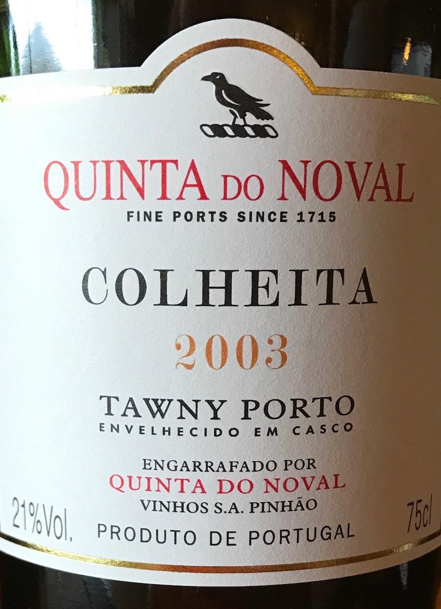 2003 Colheita