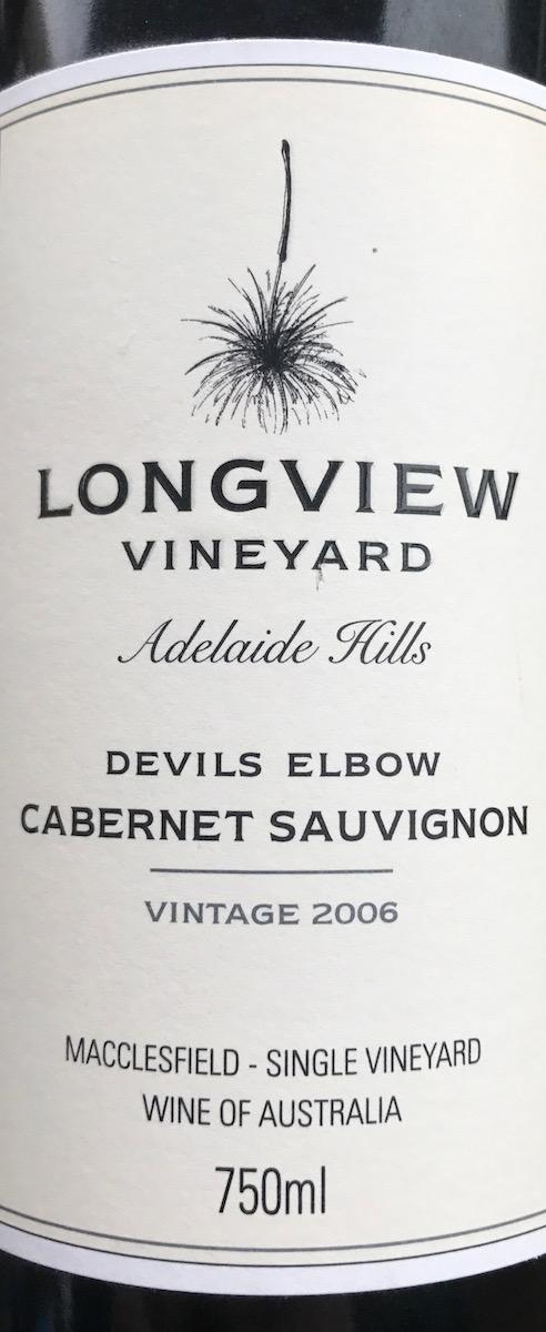 Longview Cabernet Sauvignon