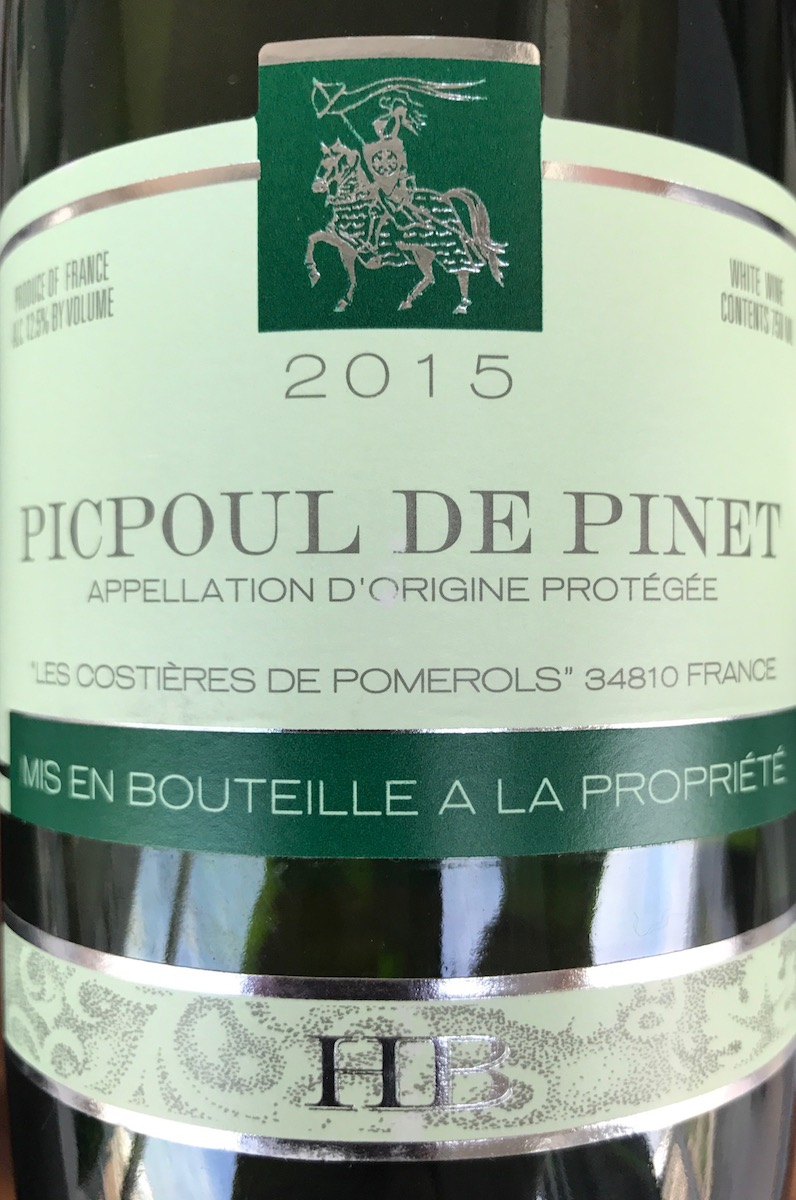 Picpoul-de-Pinet Hugues Beaulieu