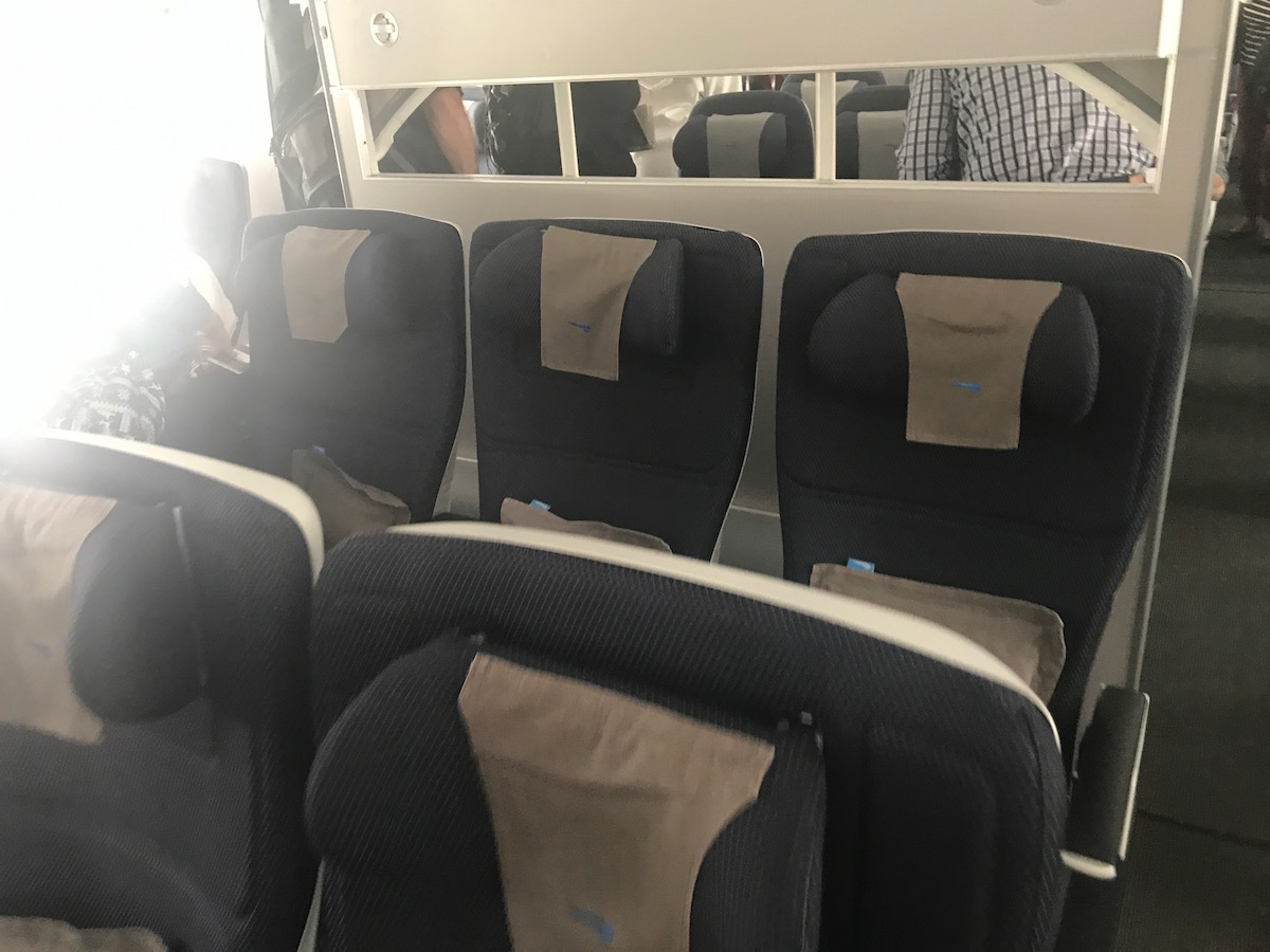 Apologies for the window light. Premium economy looks to be a worthy upgrade from back of the house, particularly from the notoriously uncomfortable British Airways economy seating.