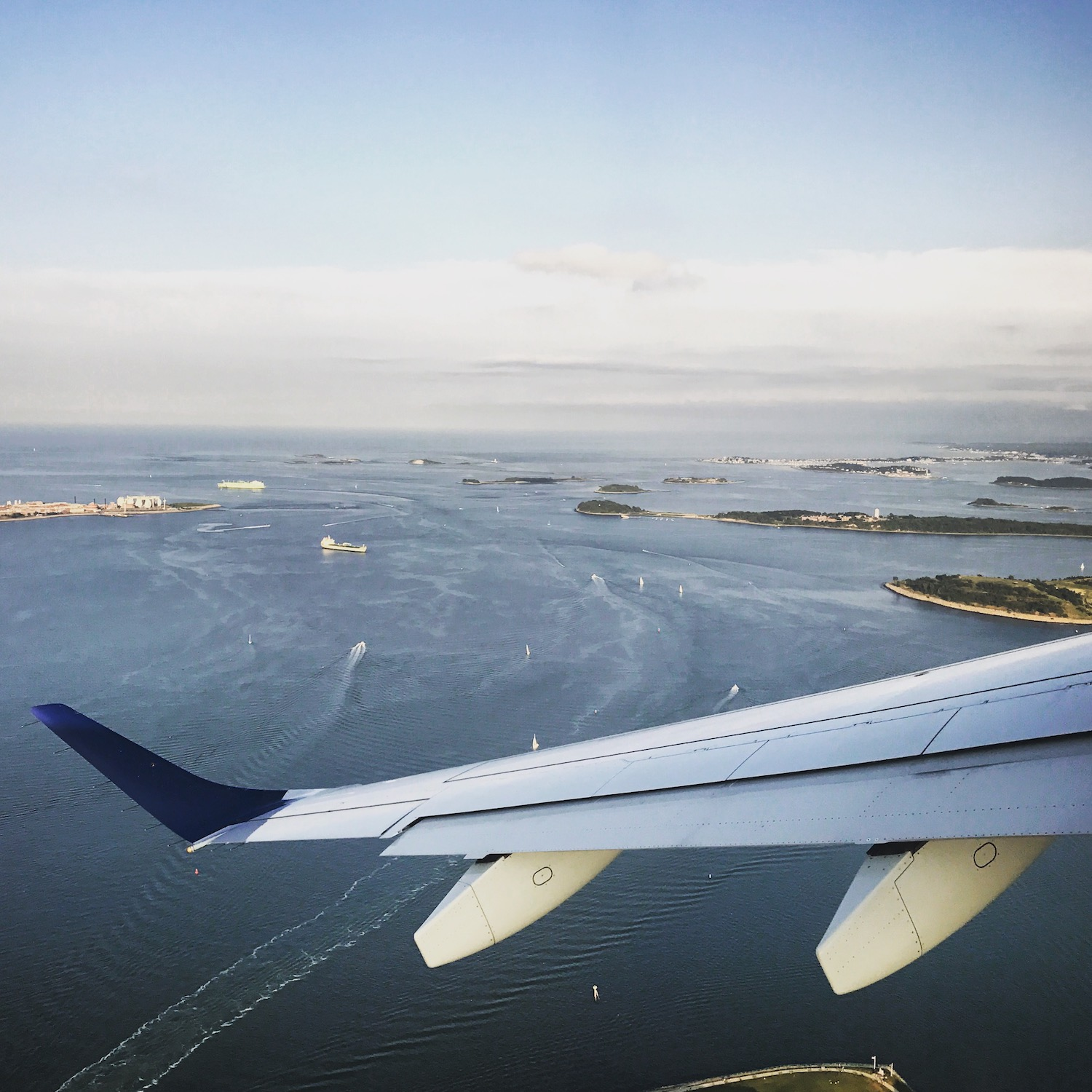 With bustling hubs in Boston (pictured) and New York, jetBlue is a great airline choice for those whose travel plans have them frequenting the northeast of the United States.